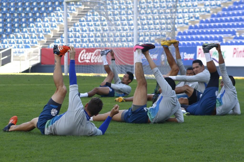 ENTRENAMIENTO PUEBLA FC