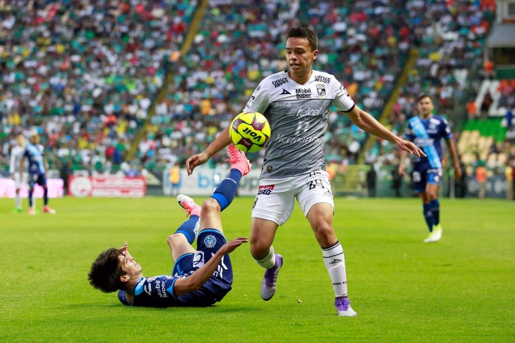 LEON, MEXICO - ABRIL 22: Osvaldo Rodriguez del Leon, durante el juego de la jornada 15 del Torneo Clausura 2017 de la Liga Bancomer MX en el Estadio Nou Camp el 22 de Abril en Leon, Mexico. (Foto: Juan Mejia/JAM MEDIA)