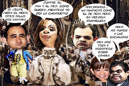 Adriana Davila Fernandez 1, Roberto Gil, Ernesto Cordero, Informe Senadora, Lorena Cuellar, Miguel Barbosa, Tlaxcala Online