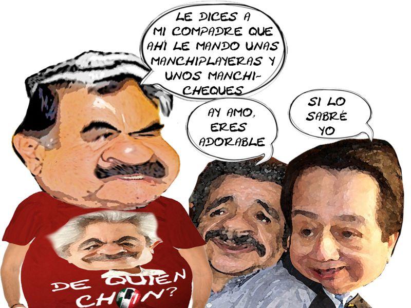 Apoyo Candidato Gobernador Michoacan, Chon Orihuela, Mariano Gonzalez Zarur, Ubaldo Velasco Hernandez, Tlaxcala Online