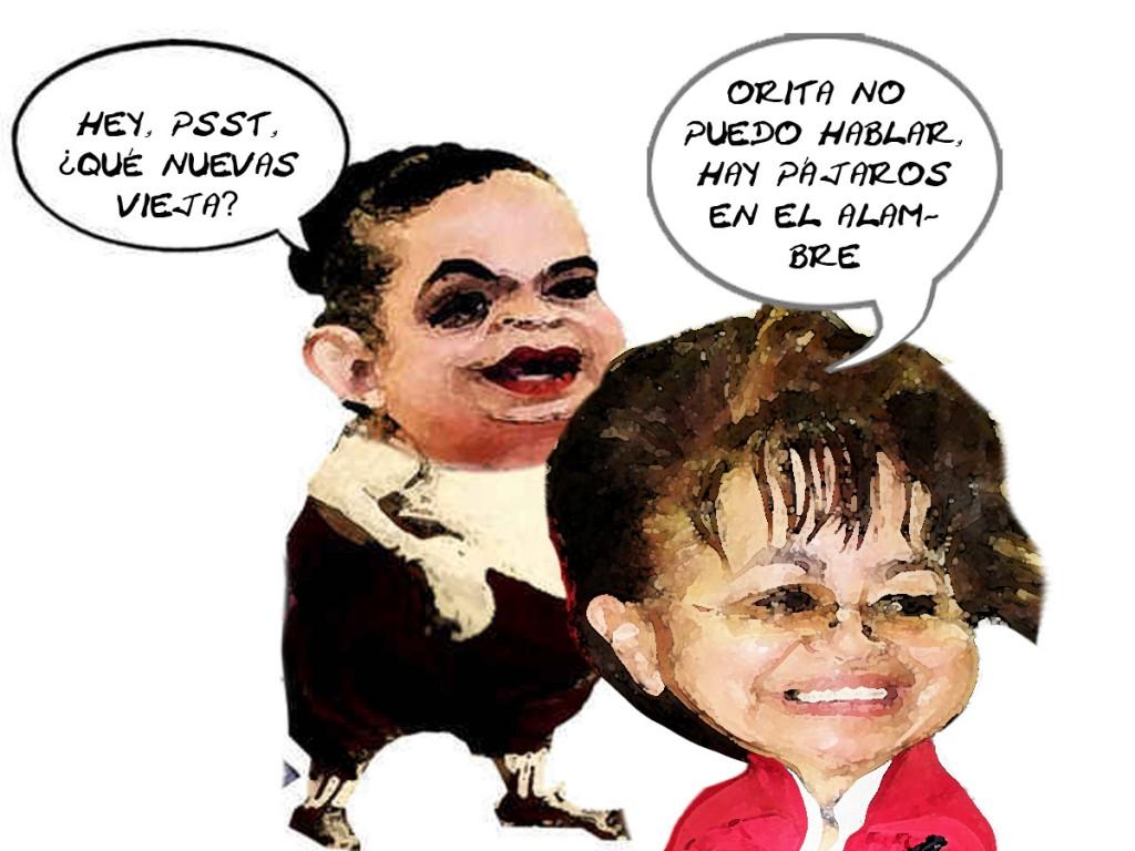 Beatriz Paredes Pide Informacion Rosalia Peredo, Caricatura, Tlaxcala En Linea