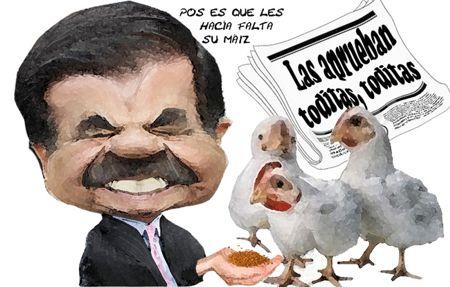 Caricatura 1, Aprueban Cuentas Ejecutivo, Corrupcion, Mariano Gonzalez Zarur, Congreso, Tlaxcala Onlline