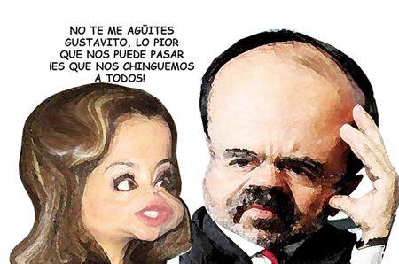 Caricatura 1 Arturo Tecuatl, Aurora Aguilar Rodriguez, Gustavo Madero Munioz, PAN, Eleccion Interna, Tlaxcala Online