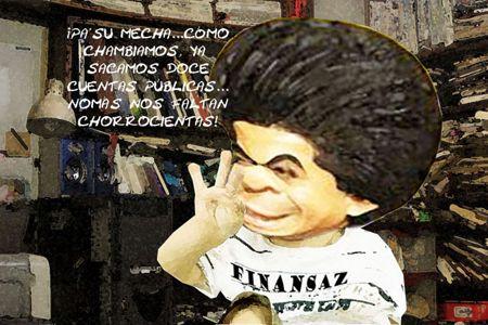 Caricatura 1, Arturo Tecuatl, Comision Finanzas, Lenta, Salvador Mendez Acametitla, Tlaxcala Online