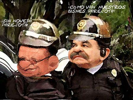 Caricatura 1, Arturo Tecuatl, Corrupcion, Mariano Gonzalez Zarur, Roberto Romano Montealegre, USET, Secoduvi, Tlaxcala Online