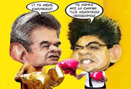 Caricatura 1, Arturo Tecuatl, Cuentas Publicas, Salvador Mendez Acametitla, Crispin Corona Gutierrez, OFS, Tlaxcala Online