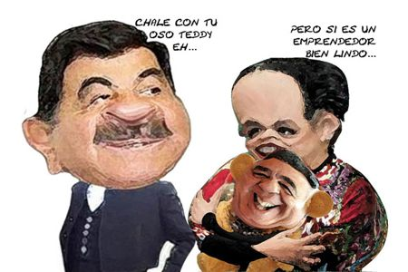 Caricatura 1, Arturo Tecuatl, Emprendedores Nacion, Cesar Carvajal, Mariano Gonzalez, Beatriz Paredes, Tlaxcala Online