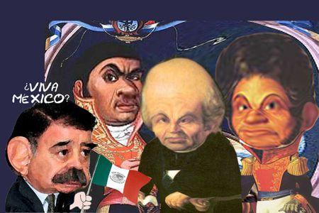 Caricatura 1, Arturo Tecuatl, Grito Independencia 2014, Mariano Gonzalez Zarur, Cura Hidalgo, Guerrero, Morelos, Tlaxcala Online