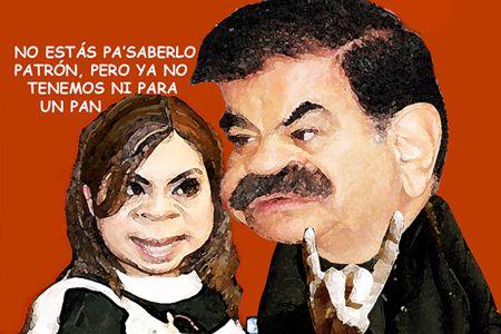 Caricatura 1, Arturo Tecuatl, IET, Corrupcion, Eunice Orta Guillen, Mariano Gonzalez Zarur, Tlaxcala Online