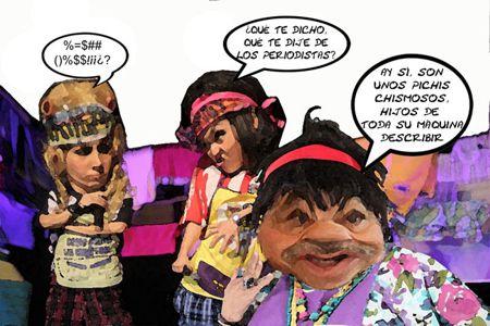 Caricatura 1, Arturo Tecuatl, Lavanderas, Chismosas, Mariano Gonzalez, Periodistas, Tlaxcala Online