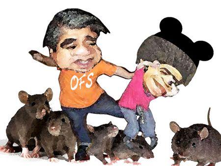 Caricatura 1, Arturo Tecuatl, OFS, Congreso, Comision Fiscalizacion, Crispin Corona, Salvador Mendez Acametitla, Tlaxcala Online
