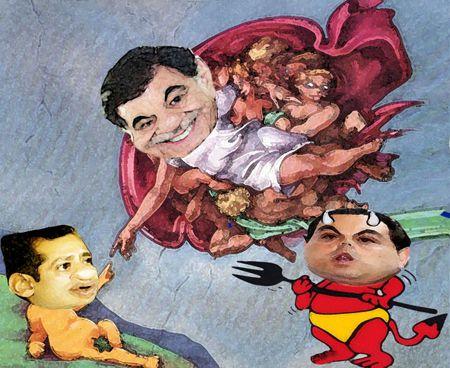 Caricatura 1, Arturo Tecuatl, Orlando Santacruz, Mariano Gonzalez Zarur, Aguirre, Primer Distrito, Cuentas Publicas, PAN Tlaxcala Online