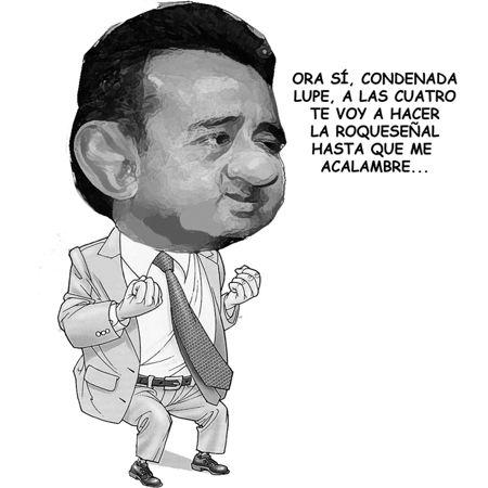 Caricatura 1, Arturo Tecuatl, Siete Mayo, Roquesenial, Edgar Tlapale, Lider Charro, Comic Politico