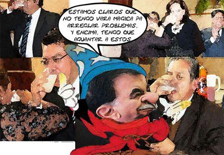 Caricatura 1, Arturo Tecuatl, Vara Magica, Mariano Gonzalez Zarur, Pulque, Ernesto Ordoniez, Marco Mena, Tlaxcala Online