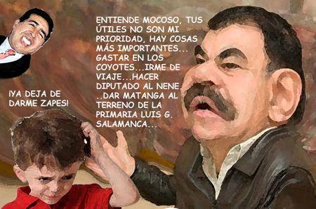 Caricatura 1, Arturo Tecuatl, Zapes Alumnos, Utiles No Prioridad, Mariano Gonzalez Zarur, Comic Politico