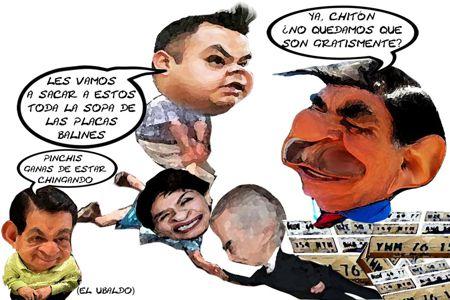 Caricatura 1, Comparecencia Gisela Santacruz Secte, Jorge Aguilera Finanzas, Mariano Gonzalez Zarur, Angelo Gutierrez, Tlaxcala Online
