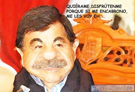 Caricatura 1 Mariano Gonzalez Zarur, Quieranme, Me les Voy, Ancianidad, Larga Espera Pooder, Tlaxcala Online