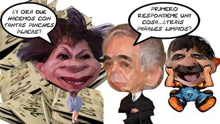Caricatura 1, Niegan Emplacamiento, Gisela Santacruz Secte, Jorge Valdez Finanzas, Mariano Gonzalez, Tlaxcala Online