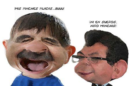 Caricatura 1, Niegan Nuevo Emplacamiento, Mariano Gonzalez Zarur, Congreso, Serafin Ortiz, Tlaxcala Online