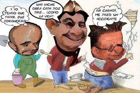 Caricatura 1, Obra cada dos Dias, Mariano Gonzalez Zarur, Roberto Romano Montealegre, Hugo Rene Temoltzin, Tlaxcala Online