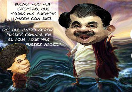 Caricatura 1, Pasan Cuentas Publicas Ejecutivo, Mariano Gonzalez Zarur, Salvador Mendez Acametitla, Tlaxcala Online