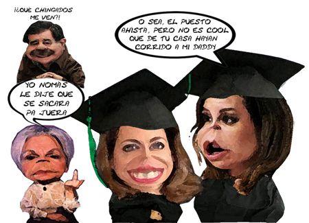 Caricatura 1, Pia Murrieta, Mariana Gonzalez Foullon, Abuelita, Beneficencia Mariano Zarur, Tlaxcala Onlline