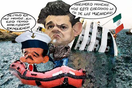 Caricatura 1, Presidente Enrique Penia Nieto, Mariano Gonzalez Zarur, Crisis Economica, Tlaxcala Online
