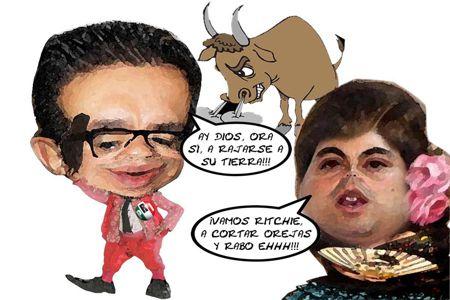 Caricatura 1, Ricardo Garcia Portilla, Renuncia Dirigencia, Precandidato, Marianito Gonzalez, PRI, Tlaxcala Online