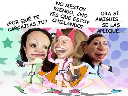 Caricatura, Arturo Tecuatl, Adriana Davila Gana Eleccion PAN, Tlaxcala Online