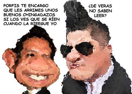 Caricatura, Arturo Tecuatl, Intolerancia, Congreso, Policias, Impiden Critica, Diputados no saben leer, Comic Politico