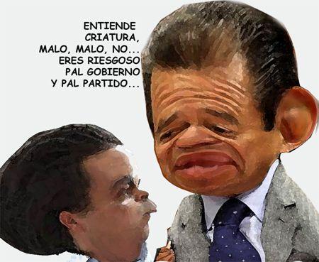 Caricatura, Arturo Tecuatl, Marianito Gonzalez, Riesgoso, Cesar Camacho, PRI, El Comic Politico