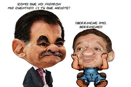 Caricatura, Reprueban Cuentas Publicas Ejecutivo, Congreso, Mariano Gonzalez Zarur, Marco Antonio Mena, Tlaxcala Online