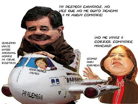 Caricatura1, Arturo Tecuatl, Viaje Alemania, Boda Mariana, Maricarmen Mazarrasa, Mariano Gonzalez, Tlaxcala Online