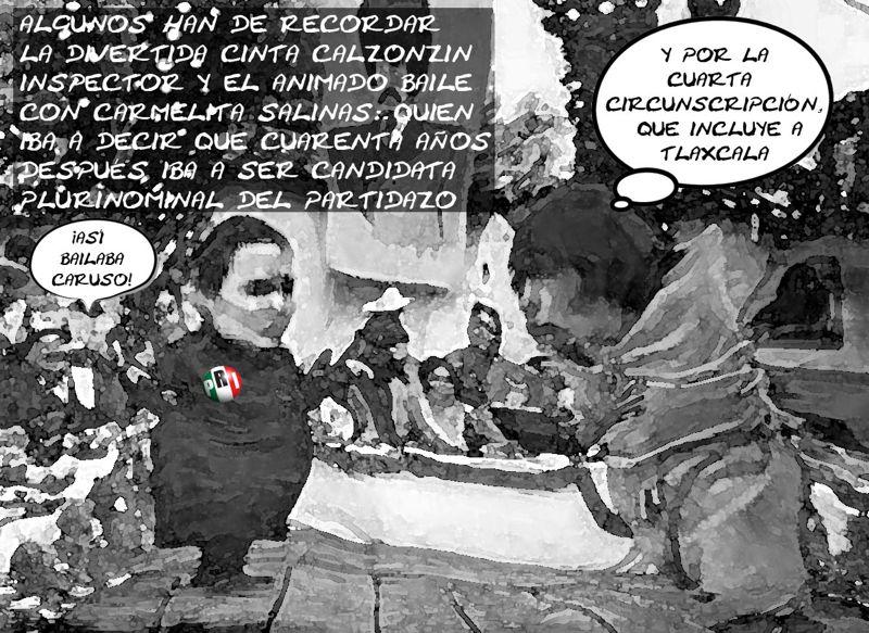 Carmen Salinas Candidata PRI Diputada Plurinominal Cuarta Circunscripcion, Calzonzin, Tlaxcala Online