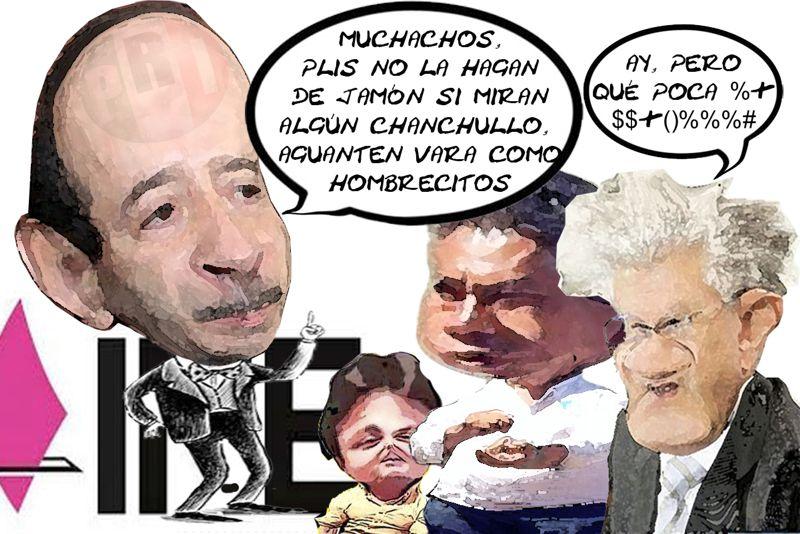 Convoca INE No Denunciar Irregularidades, Marcos Rodriguez Castillo PRI, Alfonso Sanchez Anaya, J Carmen Corona Tlaxcala Online