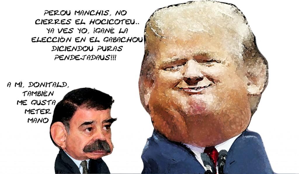 Donald Trump Pendejadas, Igual Mariano Mete Mano, Tlaxcala Online