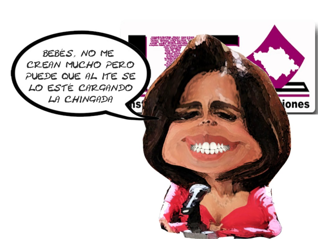 Dora Rodriguez Soriano, ITE, Fracaso, Caricatura, Tlaxcala En Linea
