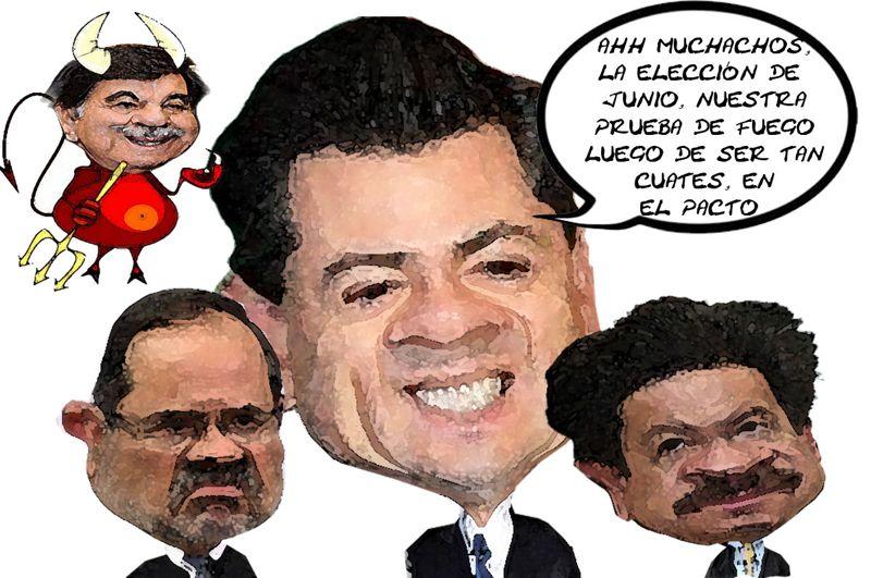 Eleccion Junio Cochinero Partidos Culpa Pacto Desmantelan Pais, Penia Nieto, Navarrete, Madero, Tlaxcala Online