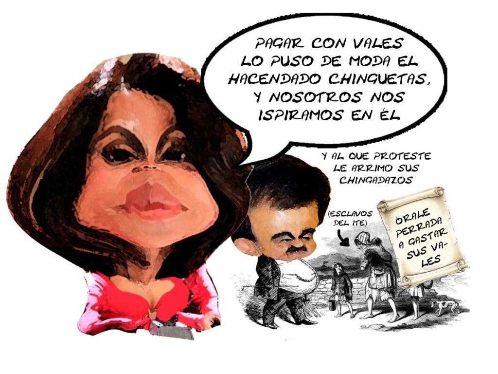 Elizabeth Piedras IET Paga Con Vales, Es Anticonstitucional, Mariano Gonzalez Zarur PRI, Tlaxcala