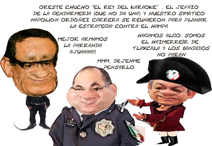 Ernesto Ordoniez Napoleon Segob, Oreste Jesus Estrada, Inutiles No Pueden Contra Criminales Tlaxcala Onlina