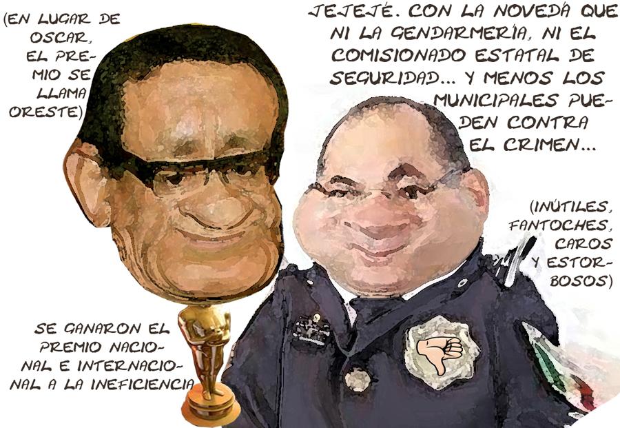 Gendarmeria Inutil, Comisionado Seguridad Complice Criminales, Estado Indefenso, Tlaxcala Online
