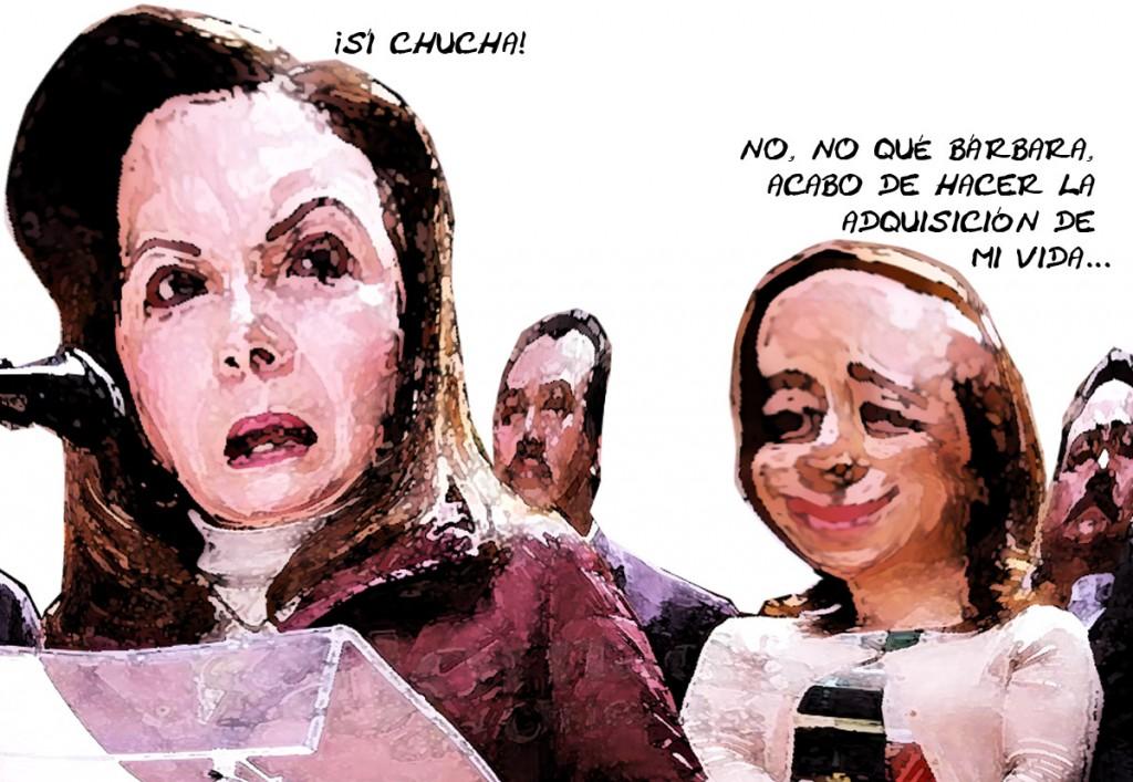 Guadalupe-Sanchez-Santiago-Traiciona-Pan-Adriana-Davila-Fernandez-Defraudada-Humillada-Caricatura