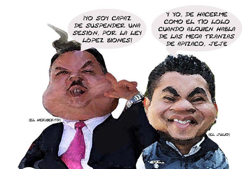 Heriberto Lopez Briones, Congreso Suspende Indefinida Sesion Magirstrados, Julio Cesar Mejia, Sindico Apizaco, Tlaxcala Online
