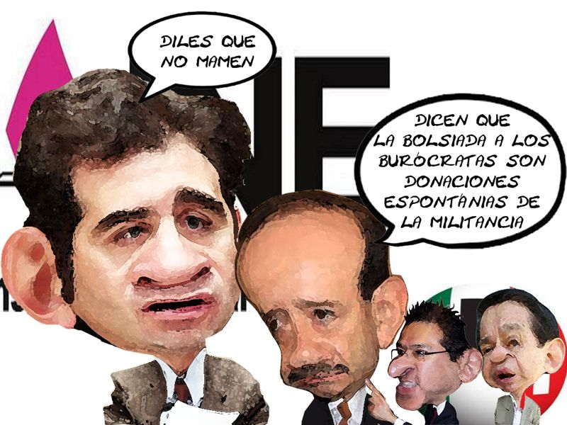 INE, Lorenzo Cordova, Bolsearon Burocratas, Marcos Rodriguez del Castillo, Ubaldo Velasco, Mena, PRI, Tlaxcala Online
