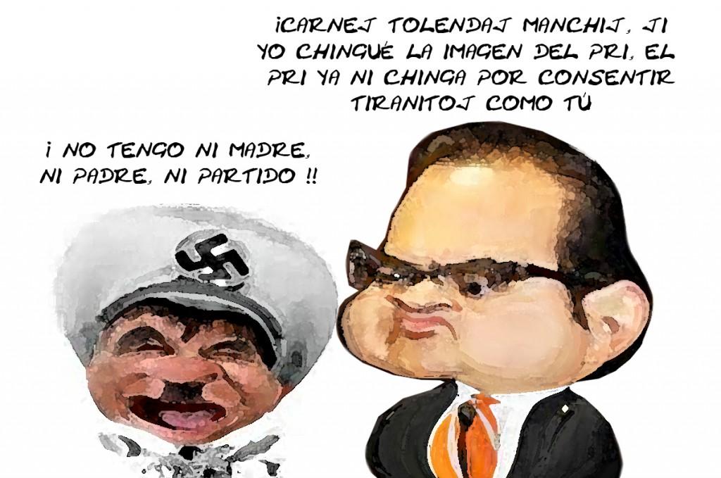 Javier Duarte De Ochoa, Mariano Gonzalez Zarur, Tiranos Veracruz, Tlaxcala PRI, Online