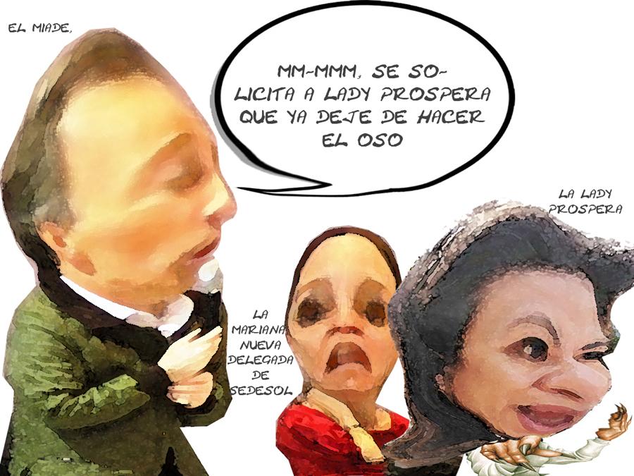 Jose Antonio Meade, Fraguan Imposicion Mariana Gonzalez Foullon Sedesol, Lady Prospera Hace Oso, Tlaxcala Online