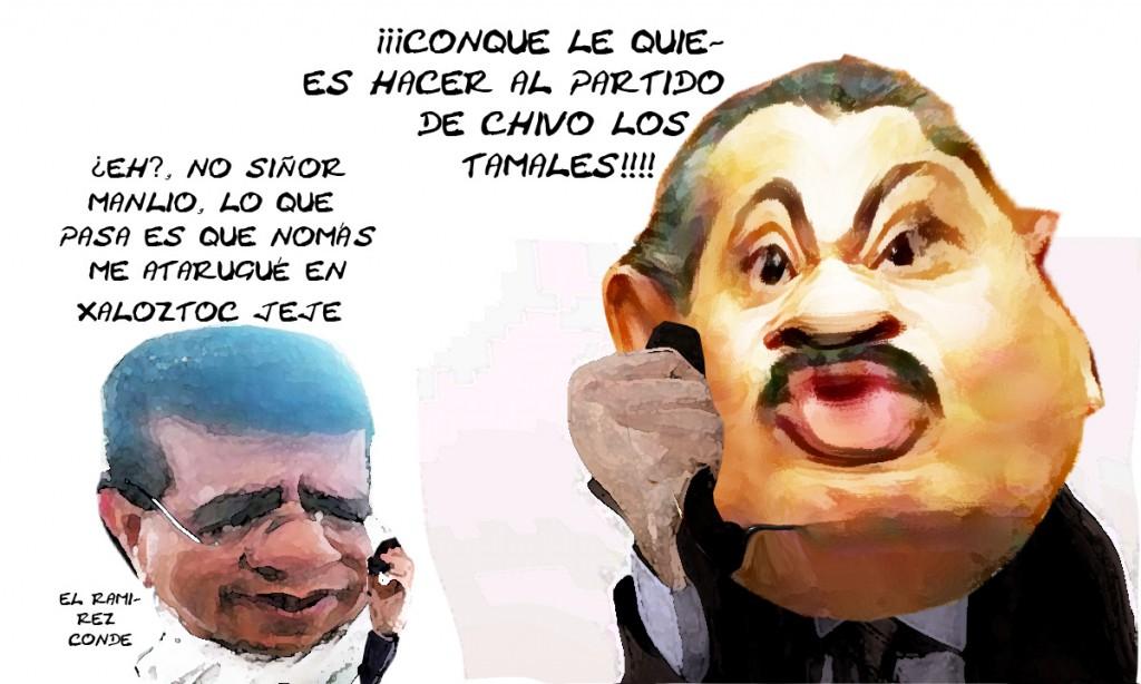 Jose Luis Ramiez Conde Chivo Tamales Xaloztoc PRI, Manlio Fabio Beltrones, Tlaxcala En Linea