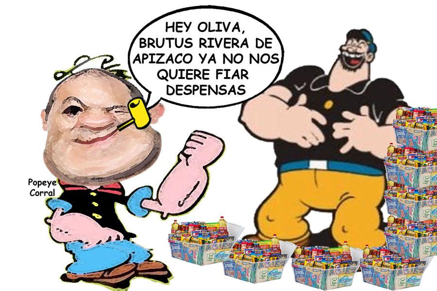 Juan Corral Mier, Operador Adriana Davila Fernandez, Diputado Pierde Tiempo, Caricatura Tlaxcala Enlinea