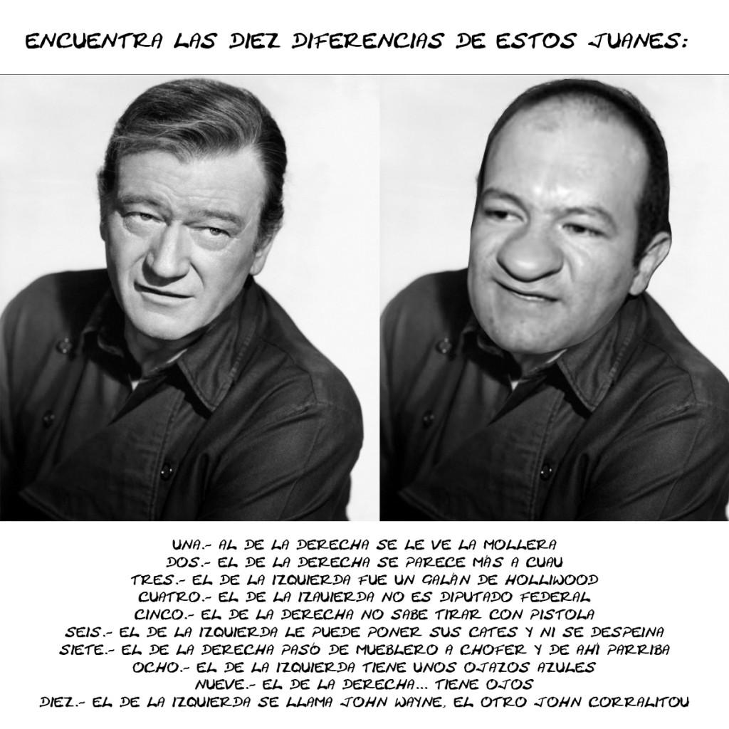 Juanito Corral, John Wayne, Encuentra Diferencias, Tlaxcala Online