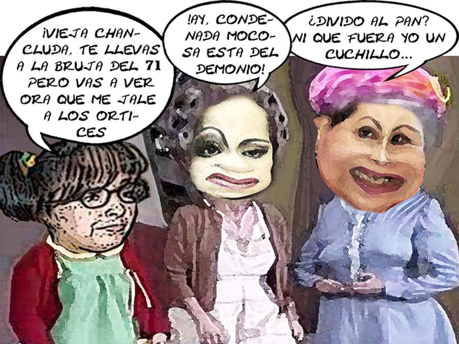 Lorena Cuellar Cisneros, Adriana Davila Fernandez, Guadalupe Sanchez Santiago, PAN, PRD, Traiciones, Caricatura, Tlaxcala En Linea